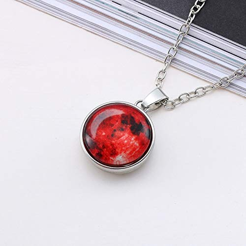 Eagles Moon Pendant Necklace Arrival Glowing Jewelry Full