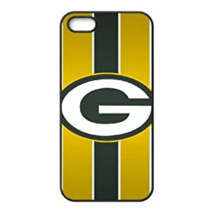 Green Bay Packers iPhone 5 5s Cell Phone Case Black DA03-259200