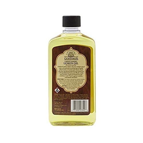 Goddard's Cabinet Makers Lemon Oil Furniture Polish – 16 oz