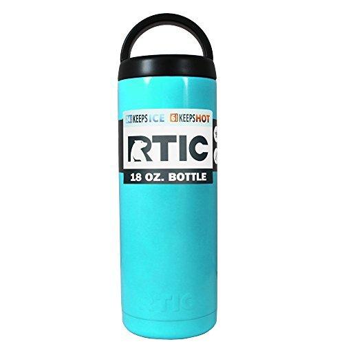 RTIC Seafoam 18 oz Stainless Steel Bottle