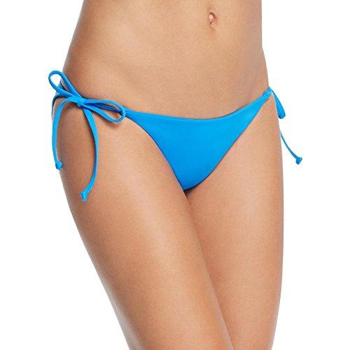 Becca by Rebecca Virtue Women's Tie Side Hipster Bikini Bottom Water (Side Tie Hipster Bikini Bottoms)