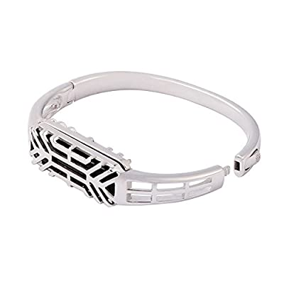 Elet-mall Metal Band Bracelet, Bangle Strap for Fitbit Flex 2, Sports Classic Accessories for Wrist Band, Watch Strap, Jewelry Bracelet and More by Elet-mall