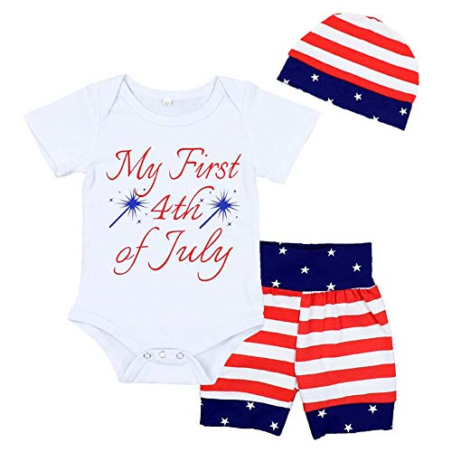 RCPATERN My 1st 4th of July Clothes Baby