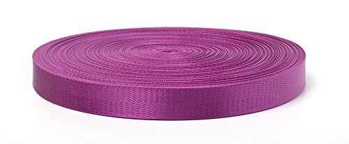 Heavy Nylon Webbing Strap Diagonal Line Pattern for