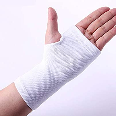 WANGYAN1886-Sports wristband Wrist Support White Tennis Volleyball Hand Wrist Palm Support Braces Pads Wrist Brace wrist straps Color With paper box Size Free Size Estimated Price £16.30 -