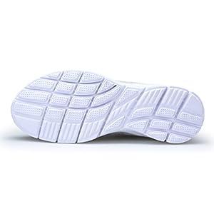 KOUDYEN Uomo Donna Scarpe da Ginnastica Corsa Basse Scarpe Sportive Confortable Fitness Running Sneakers Casual all'Aperto