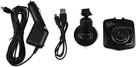 480P HD Voiture Cam/éra Dash Cam Conduite Enregistreur Vid/éo G-Capteur IR Vision Nocturne 170 Degr/és Angle Objectif 2.4 Pouces LCD Haute R/ésolution