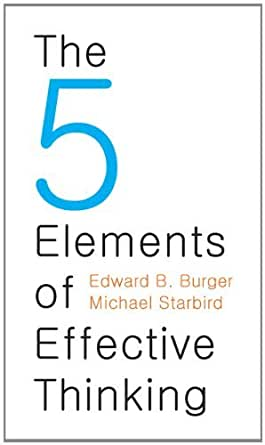the 5 elements of effective thinking pdf