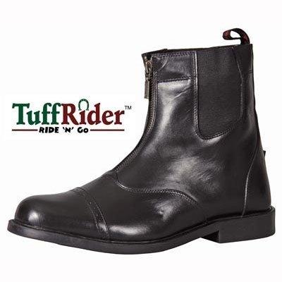 Zip Front Mens Boots - 2