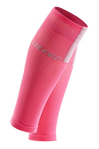 CEP Women's Compression Run Sleeves Calf Sleeves 3.0, Rose/Light Grey II by CEP (Image #1)