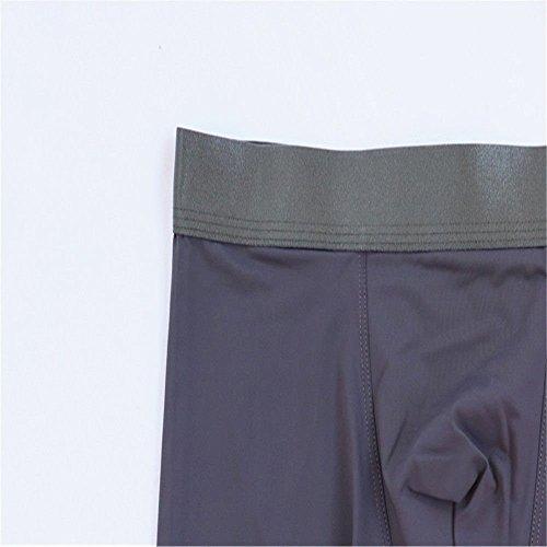 Hombre Hielo Pares Verde Gris Bambú Para Cómodo Bóxer Transpirable Calzoncillos Pantalón Seda Fibra Interior Yalanshop De Claro 3 Ropa Perfecta xgqB1vvw