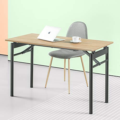 Zinus Mare Folding Desk 47 Inch Computer Workstation Table