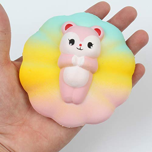 Brave669 Cute Cartoon Bear Animal Slow Rising Kids Squeeze Toys Stress Reliever
