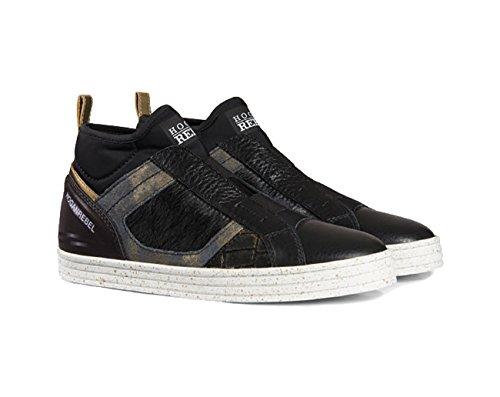 Nera Sneakers Pelle In Donne Hogan SwOfxT