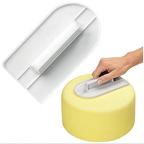 YOKIRIN Molde Suavizar torta de filtro Accesorio para Fondant Tarta Chocolate Moldes de Decoración ,moldes Azúcar Pasteles, moldes de jabón de tocador: ...