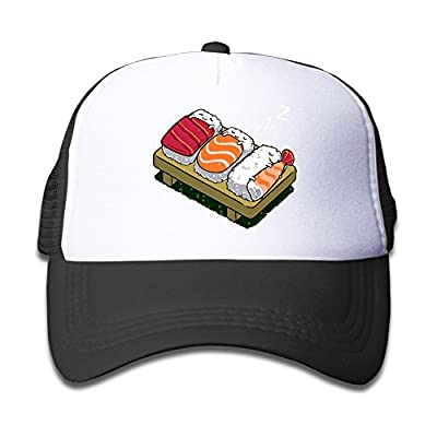 Adjustable Caps Kids Cartonnn Funny Sushi Sleep Dream Snapback Mesh Hats