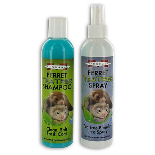 Marshalls Tea Tree Ferret Shampoo and Spray