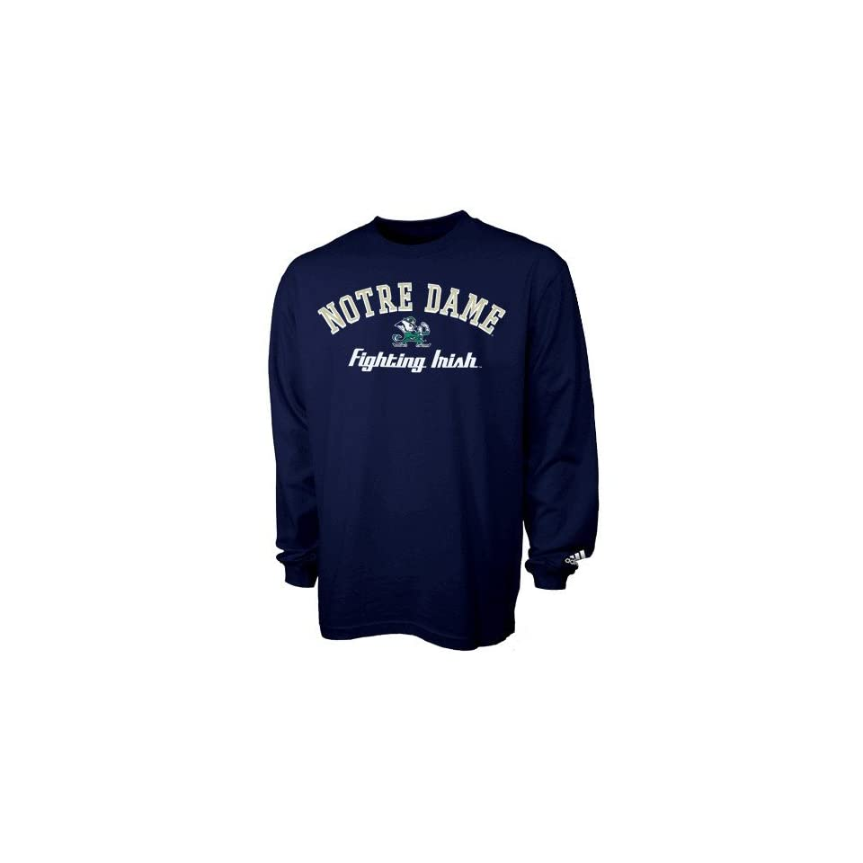 Adidas Notre Dame Fighting Irish Navy Blue Clubhouse Long