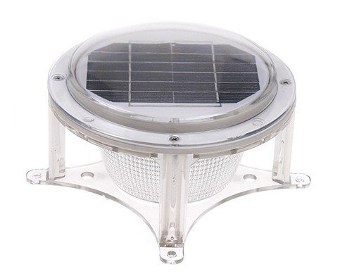 Solarrific L2049 Solar Piling Lights for Marinas by Solarrific