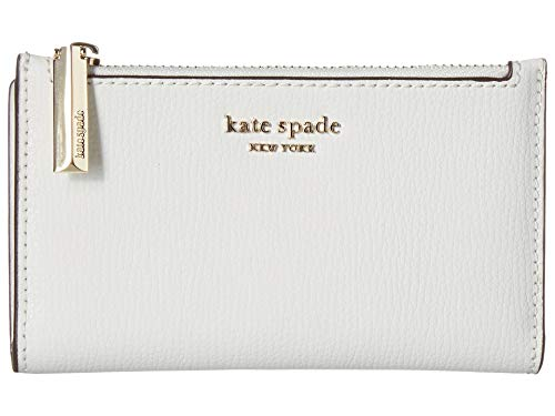 - Kate Spade New York Women's Sylvia Small Slim Bifold Wallet, Optic White, One Size