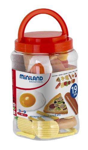 Miniland Fast Food Assortment - 19 - Condiments Fast Food