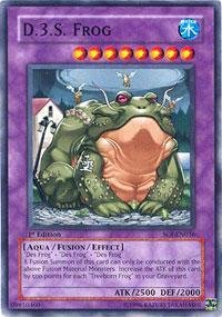 Yu-Gi-Oh! - D.3.S. Frog (SOI-EN036) - Shadow of Infinity - 1st Edition - Common