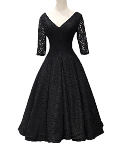 Stillluxury - Vestido - Noche - para mujer negro