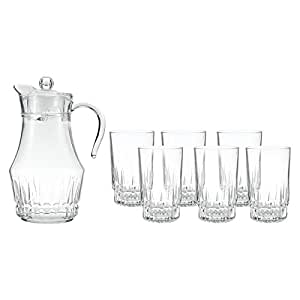 Arcopal Victoria CLear 7 Pieces Water Set