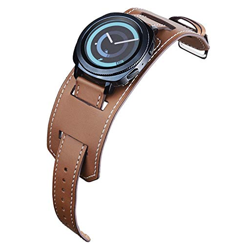 Jewh Genuine Leather Watchband - 20mm Quick Release for Samsung Gear - Sport/Gear S2