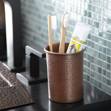 - Native Trails Copper Toothbrush Holder (Copper)