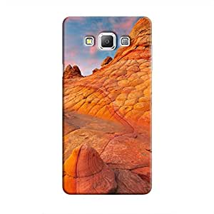 Cover It Up - Sandstone Rocks Galaxy A3 Hard Case