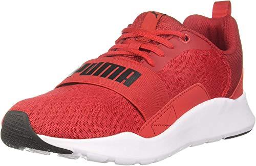 Puma Wired Rojo Blanco 366970 04: Amazon.es: Zapatos y complementos