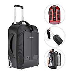 NOTE:         Considering the different requirement of boaring luggage, please check the size before purchasing.        NOTE: Backpack ONLY; Camera, Tripod and Lenses are NOT included.        Description:        A perfect and useful tr...