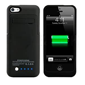 charging case for iphone 5c iphone 5 5c 5s battery muze 174 2200mah 2216