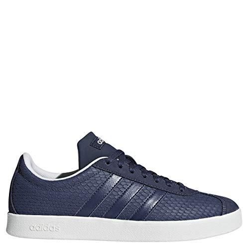 2 Adidas blanub Skateboarding azutra Mujer Para Vl 0 Azul Court Zapatillas 000 azutra De YFqE7Fxw