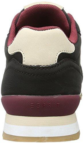 Esprit Astro Lace Up, Zapatillas para Mujer Negro (001 Black)