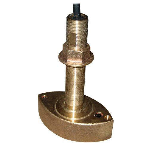 Furuno 525t-Bsd Bronze Thru-Hull Transducer W/temp, 600w (10-Pin) Mounting Style = Thru-Hull ; Frequency = 50/200 ;