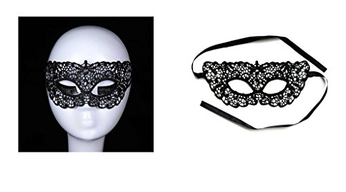 Adeleways Luxury Lace Sexy Mask - Venetian Masquerade Lace Eyemask Eye Mask for Halloween Masquerade Party Costume Mask Masquerade For Women and Girls (Venetian Eye Mask)