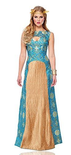 Costume Culture Women's Noble Lady Costume, Blue, Large (Noble Renaissance Man Costume)