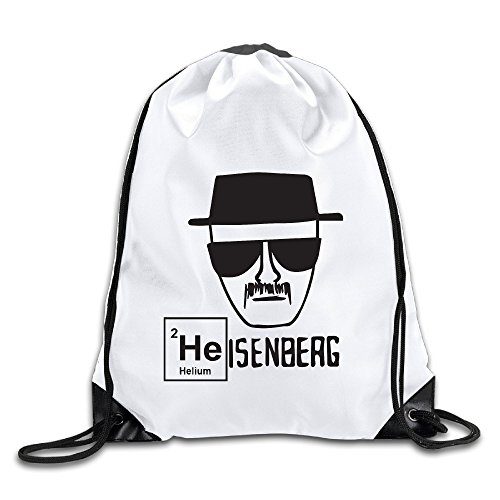 Hunson - Geek Heisenberg Backpack Sack Bag Drawstring Sling Backpack For Men & Women Sackpack