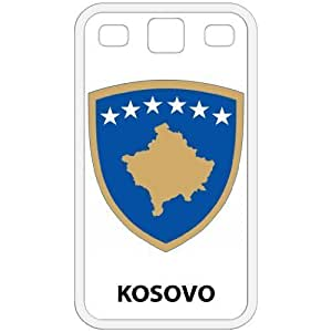 Kosovo - Country Coat Of Arms Flag Emblem White Galaxy S3 i9300 Cell Phone Case - Cover