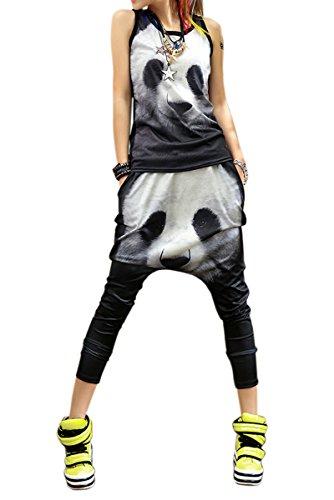 ELLAZHU - Camiseta sin mangas - para mujer Multicolor