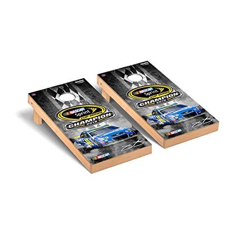 Victory Tailgate NASCAR Jimmie Johnson #48 Regulation Cornhole Game Set 2016 Sprint Cup Champion Version ()