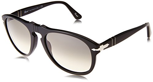 Black Persol Men's Sunglasses 0po0649 Round YOOAf6