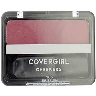 CoverGirl True Plum 185 Cheekers Blush -- 3 per case.