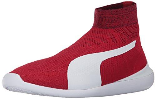 PUMA Men SF Evo Cat Sock Sneaker Rosso Corsa-puma White-puma White