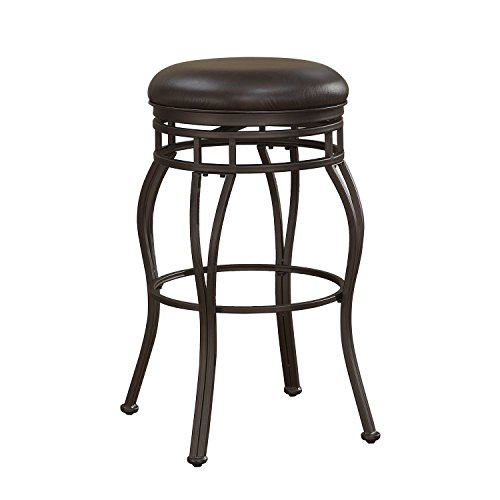 American Woodcrafters Villa Tall Bar Stool (Swivel 34 Tall Stool)