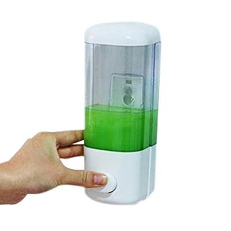 Romote 1P Pared Sucker dispensador de jabón de baño Mini Caja de Entrada única WK: Amazon.es: Hogar