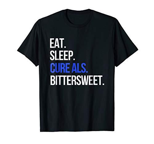 T-shirts Cure Als (ALS Awareness for Dad Sister Eat Sleep Cure ALS T-Shirt)