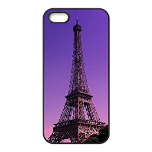 iPhone 5,5S Phone Case With Eiffel Tower Pattern